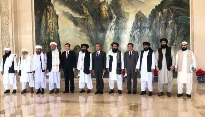 طالبان وفد کی چینی وزیر خارجہ سے ملاقات