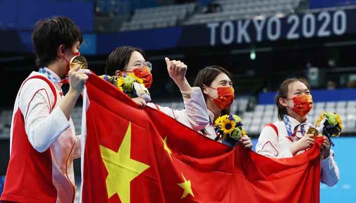 ٹوکیو اولمپکس: میڈلز ٹیبل پر چین نے جاپان سے پہلی پوزیشن چھین لی