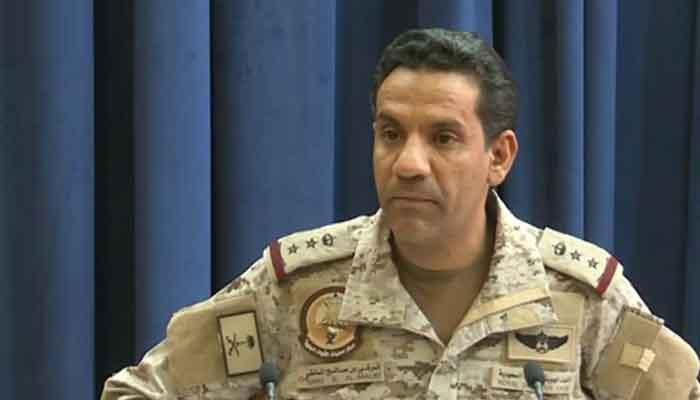 حوثی باغیوں کا ڈرون حملہ ناکام بنادیا گیا، عرب فوجی اتحاد