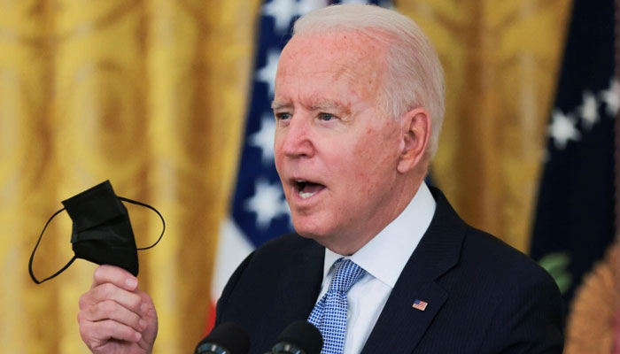 Corona's threat is not over yet, Biden