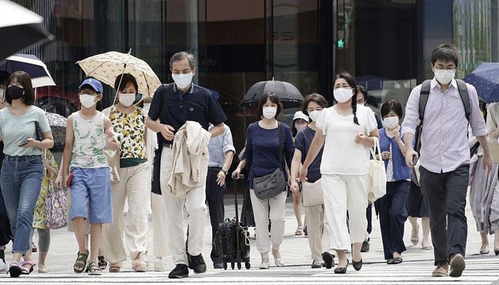 جاپان میں کورونا وائرس کے نئے کیسز میں تیزی