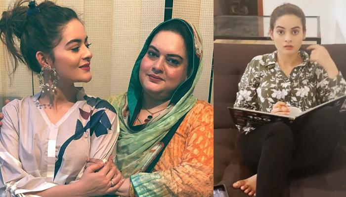 منال خان نے اپنی والدہ کی شکایت دور کردی