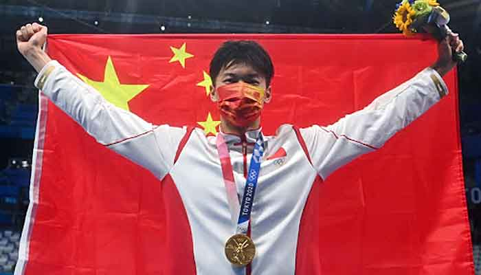 ٹوکیو اولمپکس: ساتویں دن چینی ایتھلیٹس چھائے رہے