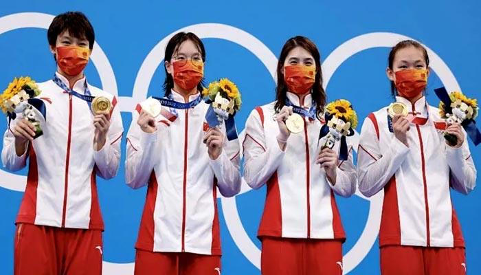 ٹوکیو اولمپکس: چین 21 گولڈ میڈلز کے ساتھ سرفہرست