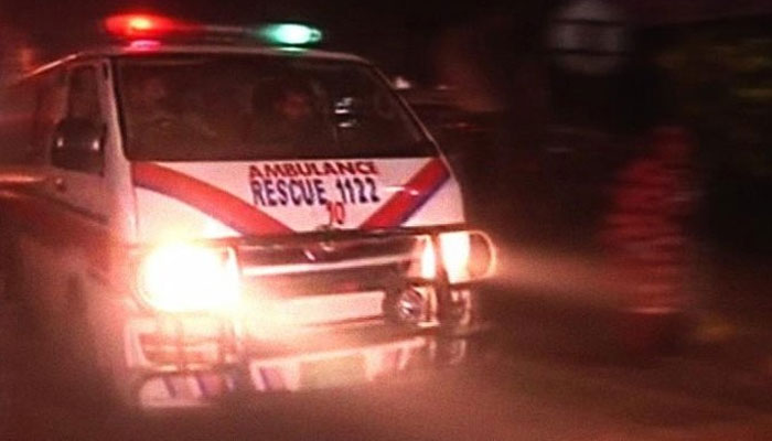 Rajanpur: A gas cylinder exploded in a passenger van, killing six people