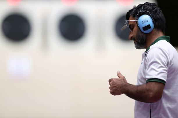 ٹوکیو اولمپکس: پاکستانی شوٹر جی ایم بشیر نے چھٹی پوزیشن حاصل کرلی