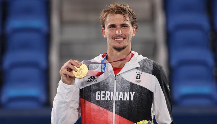 اولمپک ٹینس: جرمن کھلاڑی نے گولڈ میڈل جیت لیا
