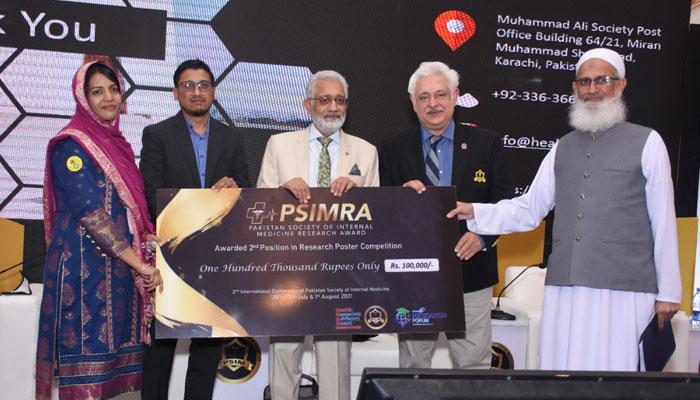 ڈاؤ یونیورسٹی نے پہلے تینوں PSIMRA تحقیقی ایوارڈ جیت لیے