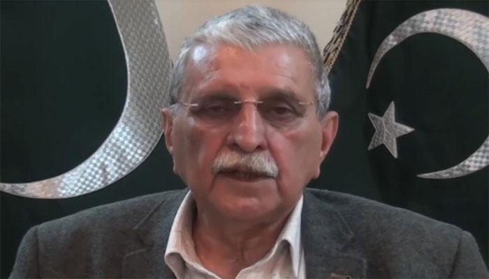 نون لیگ نے بطور احتجاج حلف اٹھایا ہے: راجہ فاروق حیدر