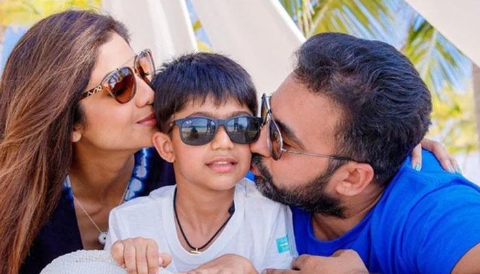 راج کندرا کی گرفتاری، بیٹے کی پہلی پوسٹ سے والد ہی غائب