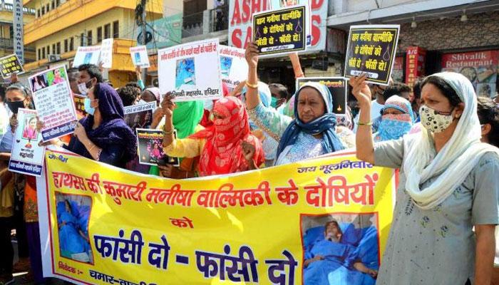 بھارت: دہلی میں دلت لڑکی کو زیادتی کے بعد قتل کرکے لاش جلادی گئی