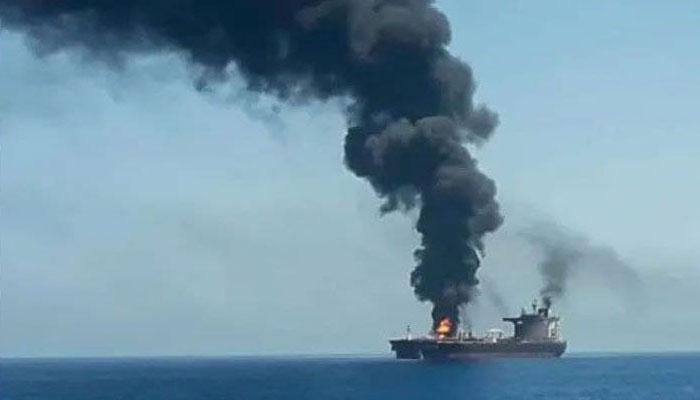نیٹو کی عمان میں اسرائیلی آئل ٹینکر پر حملے کی مذمت
