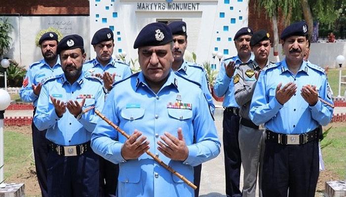 اسلام آباد: یومِ شہدائے پولیس کی تقریب