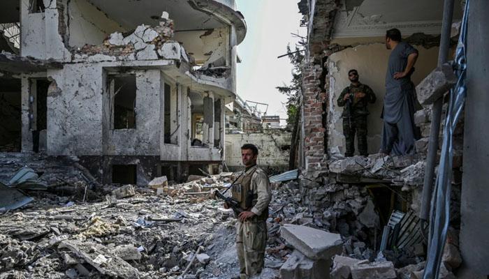 قائم مقام افغان وزیر دفاع کے گھر دھماکے میں 4 افراد ہلاک