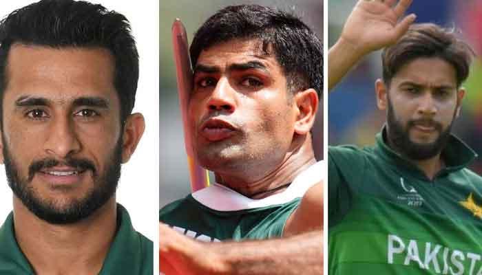 پاکستانی کرکٹرز کی ارشد ندیم کو مبارکباد، حوصلہ افزائی کے پیغامات