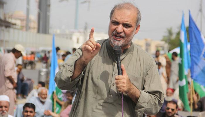 اہل کراچی سے مزارعوں جیسا سلوک کیا جارہا ہے، حافظ نعیم الرحمٰن