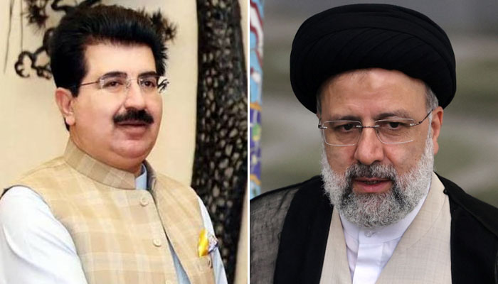 صادق سنجرانی کی نومنتخب ایرانی صدر سے ملاقات