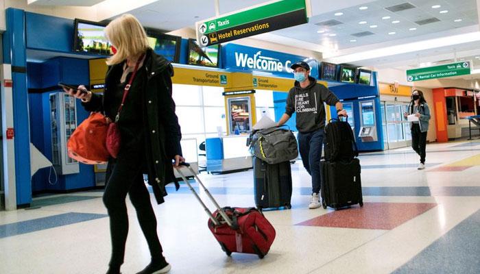 امریکا کا ویکسین شدہ غیرملکیوں کو داخلے کی اجازت پر غور