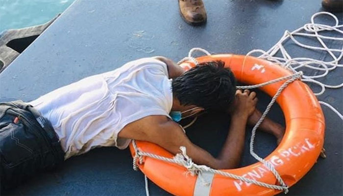 ملائیشیا سے تیر کر مکہ جانے کی کوشش، نوجوان گرفتار