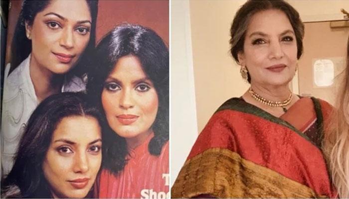 شبانہ اعظمی نے زینت امان اور سیمی گریوال کے ساتھ ماضی کی پرانی تصویر شیئر کردی