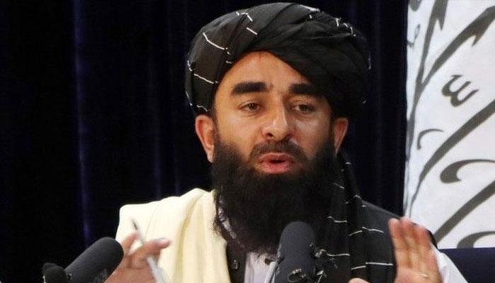 امریکا نے افغانوں کو نقل مکانی پر اُکسایا، ذبیح ﷲ مجاہد