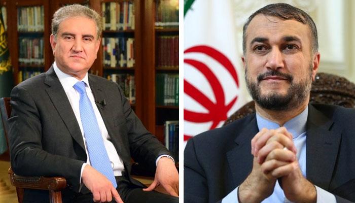 پاک ایران وزرائے خارجہ کا ٹیلیفونک رابطہ