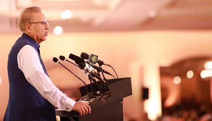 خطے کی ترقی کا راز مسئلہ کشمیر کے حل میں ہے، صدر علوی
