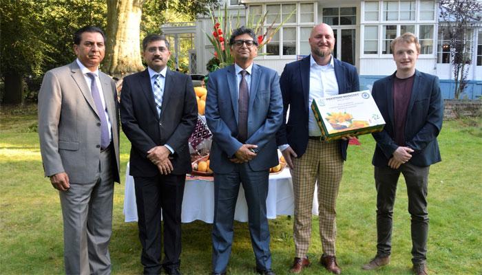 نیدرلینڈز میں پاکستانی سفارتخانے میں مینگو فیسٹیول، مقامی سفارتکاروں سمیت پاکستانیوں کی شرکت