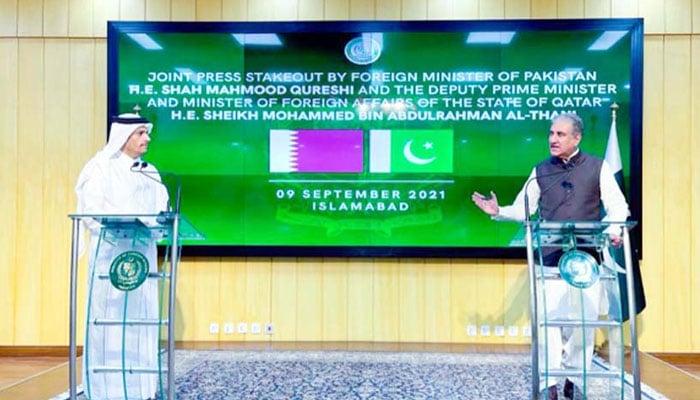 پاکستان اور قطر افغانستان میں امن کے پارٹنر ہیں، شاہ محمود قریشی