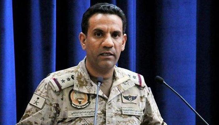 حوثیوں کا ڈرون حملہ ناکام بنادیا گیا، ترجمان عرب اتحاد