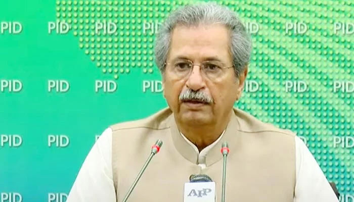 OA level examinations will be as per schedule, Shafqat Mahmood