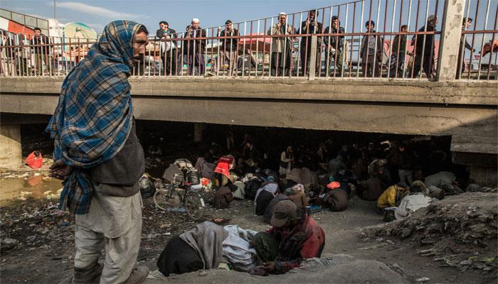 کابل کا پلِ سوختہ، منشیات کے عادی افراد کا مسکن