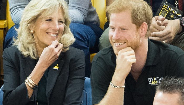 First Lady Jill Biden pays tribute to Prince Harry