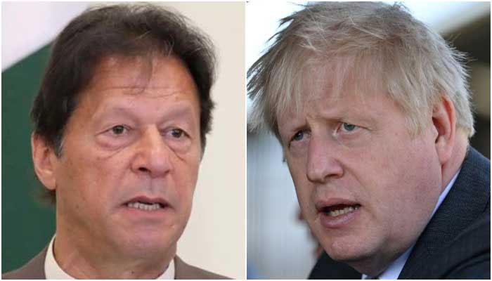 وزیراعظم عمران خان کی بورس جانسن سے تعزیت