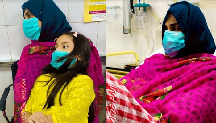 فضا علی نے جلد صحتیابی کیلئے دعاؤں کی اپیل کردی