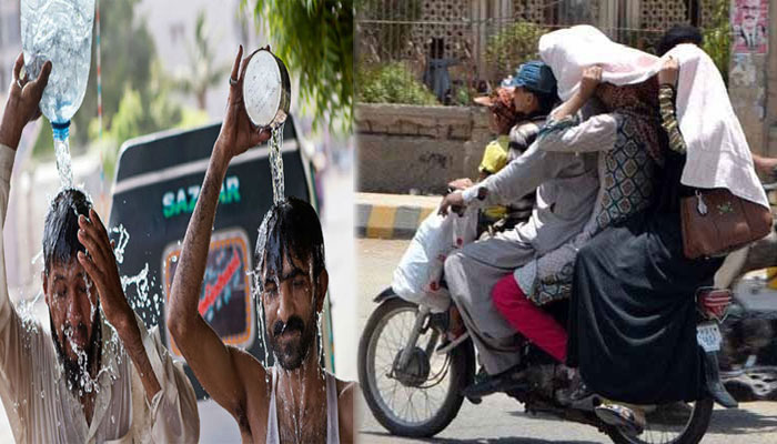 کراچی میں ہیٹ ویو، پارہ 41 ڈگری کو چھو سکتا ہے