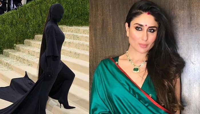 Kareena Kapoor's reaction to Kim Kardashian's black dress