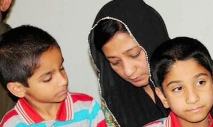 مقتول عمران فاروق کی اہلیہ شمائلہ انتہائی غربت کی زندگی بسر کرنے پر مجبور