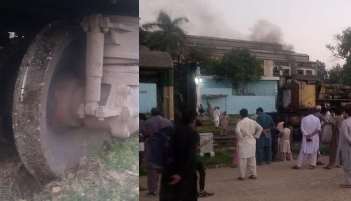 کراچی: ملتان روانگی کیلئے تیار زکریا ایکسپریس کی بوگی پٹری سے اتر گئی