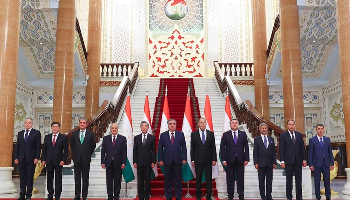 دوشنبے: روس، چین، ایران اور پاکستانی وزرا خارجہ کی ملاقات