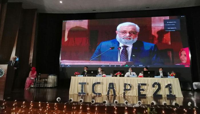 عالمی طبیعاتی کانفرنس، سائنس وٹیکنالوجی کے میدان میں بہتری کا احاطہ کرے گی، پروفیسر ڈاکٹر سروش حشمت لودھی