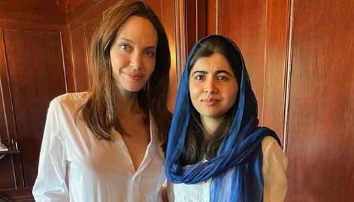 ملالہ اپنی دوست انجلینا جولی کے متاثر کُن اقدام کی معترف