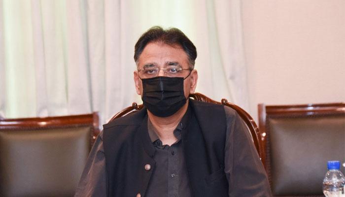 سکھر حیدر آباد موٹر وے منصوبہ 30 ماہ میں مکمل ہو گا: اسد عمر