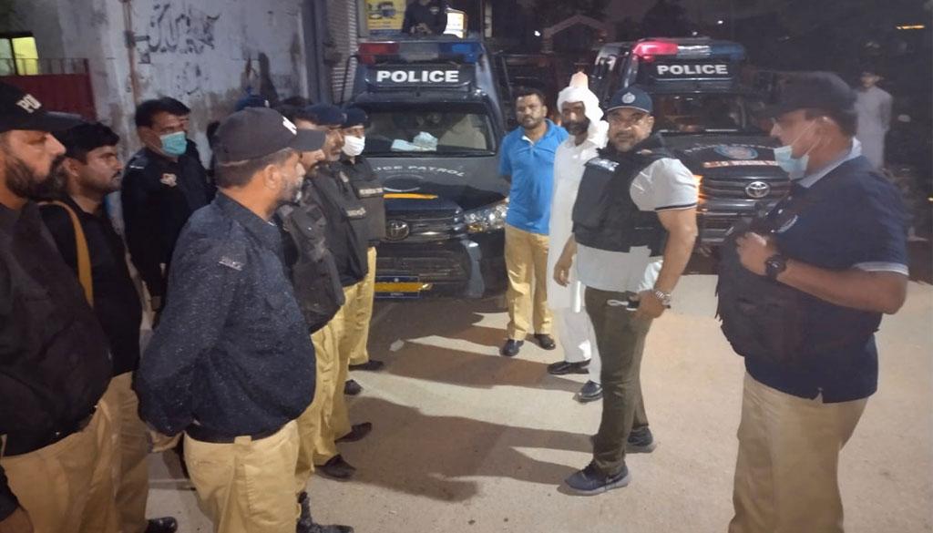 کراچی: سچل میں آپریشن، جواری اور گٹکا بنانیوالے 14 ملزمان گرفتار