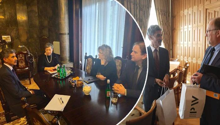 پولینڈ کے تعلیمی اداروں سے اشتراک عمل کیلئے سفیر پاکستان کے اقدامات