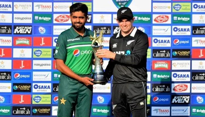 پاکستان نیوزی لینڈ میچز نیوٹرل وینیو پر کھیلنے کی بات نہیں ہوئی