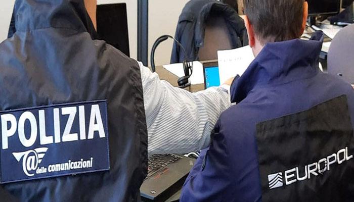 آن لائن بینک فراڈ کرکے 10 ملین یورو کی رقم ہتھیانے والے 106 افراد گرفتار