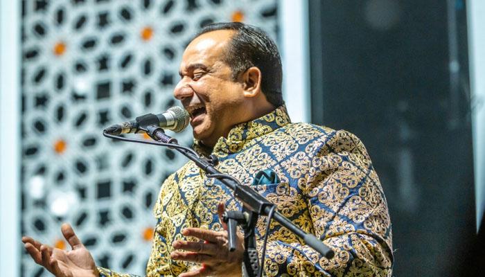 استاد راحت فتح علی خان نے دو سال کے وقفے کے بعد لندن کا میلہ لوٹ لیا