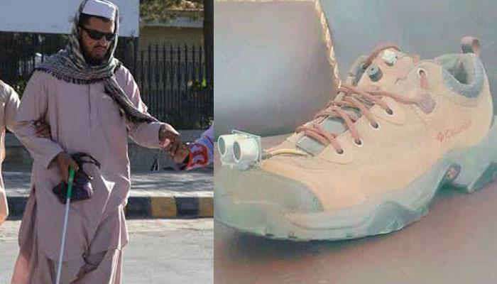 پاکستان میں نابینا افراد کے لیے اسمارٹ جوتا تیار