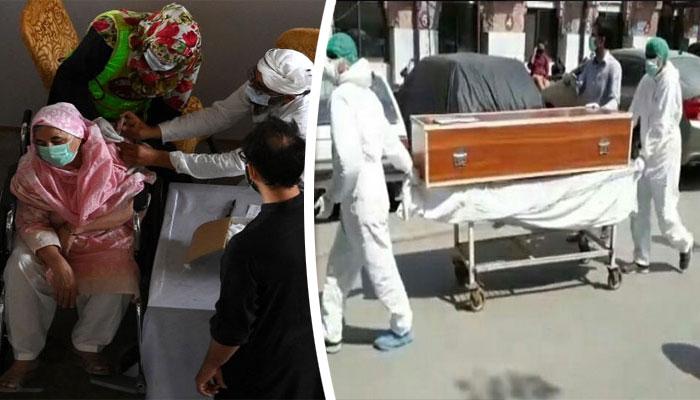 پاکستان: کورونا کیسز کے بعد اموات میں بھی کمی